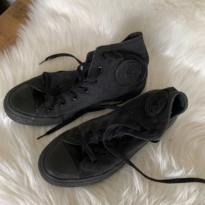 High top converse, used size 8
